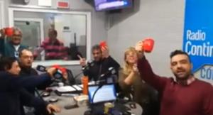 Velez en Radio Continental Córdoba